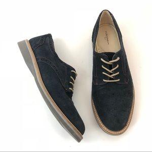 Halogen Lindy Nubuck Suede Lace Up Oxford Shoe
